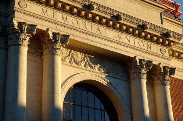 memorial union pediment