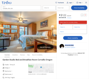 Corvallis VRBO Vacation Rental Options