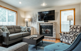 Image of living room scene of a vacation rental at Fernwood Guest Houses