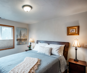 Bedroom in a Fernwood Circle Guest Houses Vacation Rental