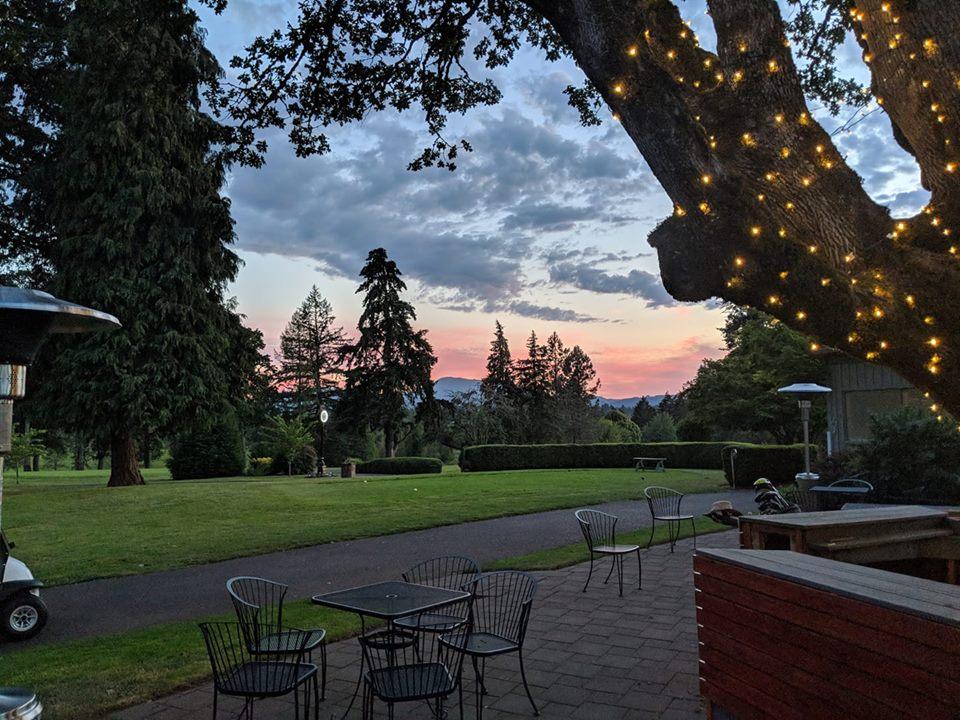 relaxing in Corvallis Oregon