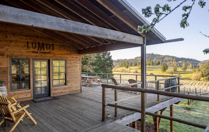 Entrance Lumos Wine Co Tasting Room